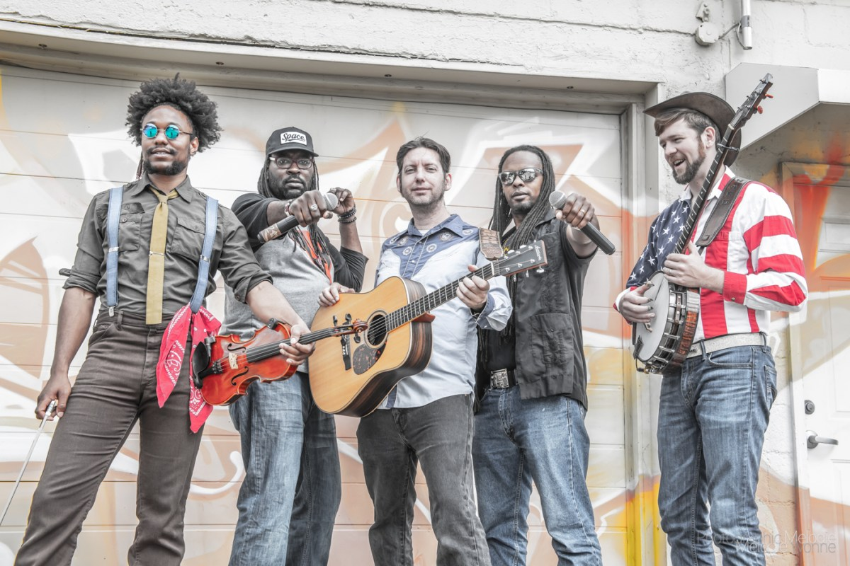 Gangstagrass Promo Shoot @ Fountain Square 5-15-2019